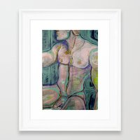 military Framed Art Prints featuring Military  by ASHe Levesque