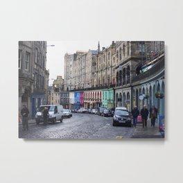 Victoria Street Edinburgh 2 Metal Print