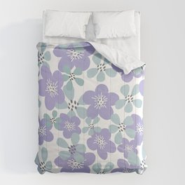 Maya Periwinkle Comforters