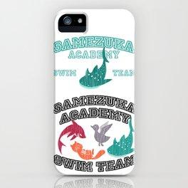 Samezuka - Whale Shark iPhone Case