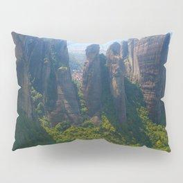 Meditation up to Meteora | Greece | Nature Pillow Sham