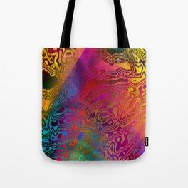 Color Chaos Tote Bag