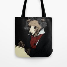 Bearthoven Tote Bag