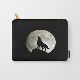 night Wolf Carry-All Pouch