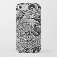 prometheus iPhone & iPod Cases featuring Prometheus by Walid Aziz