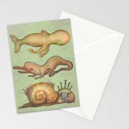 Peculiar Marine Species Stationery Cards