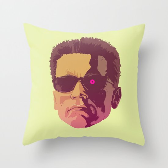 I LL BE BACK Throw Pillow