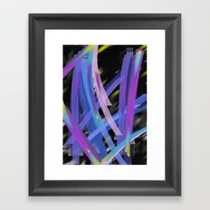 Ribbons Framed Art Print