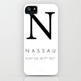 25North Nassau iPhone Case