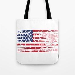 USA Snake Teeth Gift Confident Gift Tote Bag