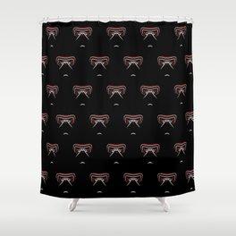 Kylo Ren gaze Shower Curtain