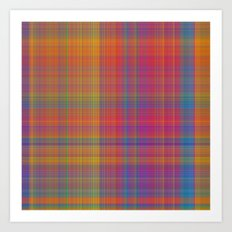 Forever plaid  Art Print