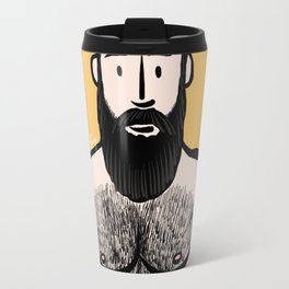 Beard Boy: Alejandro Travel Mug