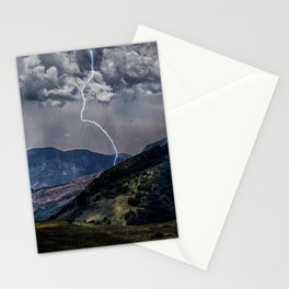 Lighting Is Alone Stationery Cards