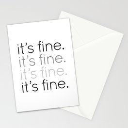 it's fine. Stationery Cards