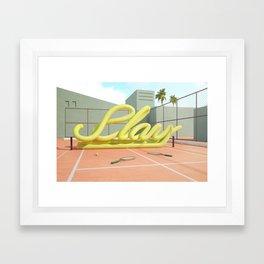 Summer Vibes (Play-1) Framed Art Print