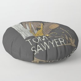 Books Collection: Tom Sawyer Floor Pillow
