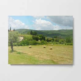 Italian Countryside Metal Print
