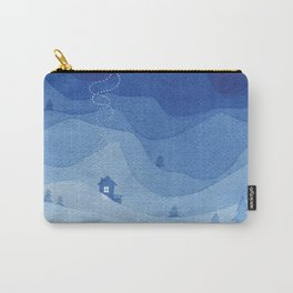 Stars factory, blue Carry-All Pouch