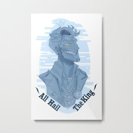 Handsome jack - Glitch Metal Print