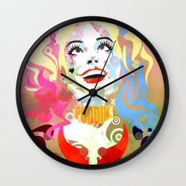 Daddy's Lil Monster Wall Clock