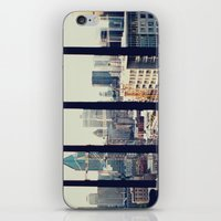 montreal iPhone & iPod Skins featuring MONTREAL by Caitlin Aboud