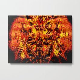 Demons Metal Print