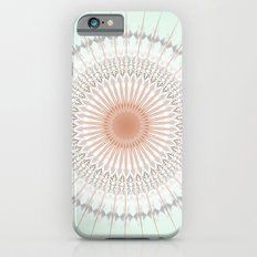 Mint Rose Gold Mandala Slim Case iPhone 6s