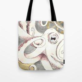 Octopus n Gears Tote Bag