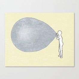 Universe-ballon Canvas Print