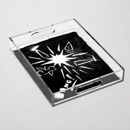 Bang ! Acrylic Tray