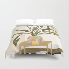 The Plant Room Duvet Cover