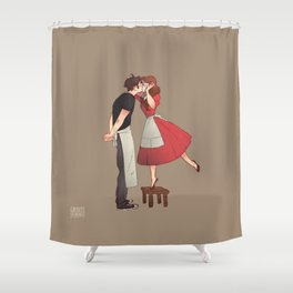 The Piemaker Shower Curtain