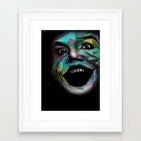 the joker Framed Art Prints featuring Joker by Urban Artist