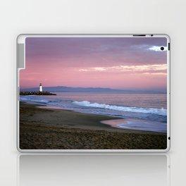 Santa cruz lighthouse Laptop & iPad Skin