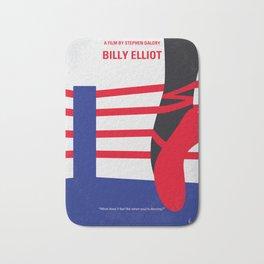 No597 My Billy Elliot minimal movie poster Bath Mat
