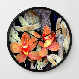 Gone To Seeds Wall Clock