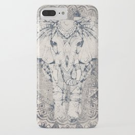 Indian Elephant Mandala iPhone Case