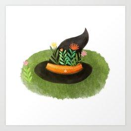 Witch Hat Art Print