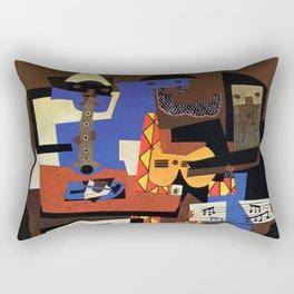 Pablo Picasso Three Musicians Rectangular Pillow