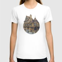buildings T-shirts featuring Buildings by Protogami