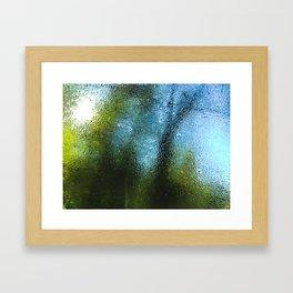 Outside World Framed Art Print