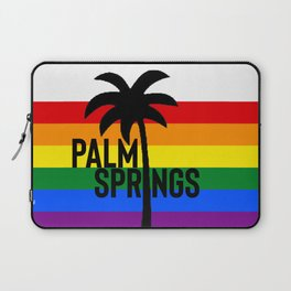 gay Palm Springs LGBT Rainbow Pride Laptop Sleeve
