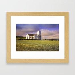Ballintoy Church Framed Art Print