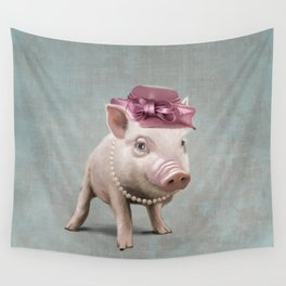 Miss Piggy Wall Tapestry