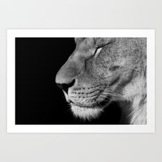 Your Majesty Art Print
