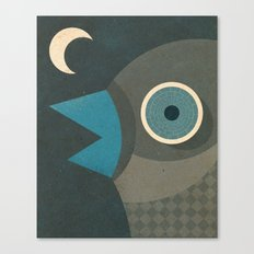 Wind-Up Bird Canvas Print