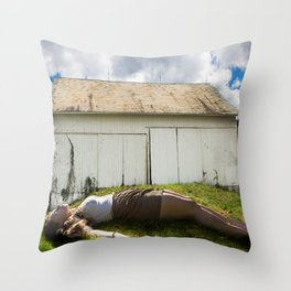 Giantess Throw Pillow