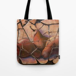 The Pears Fresco With a Crackle Finish #Society6 Tote Bag