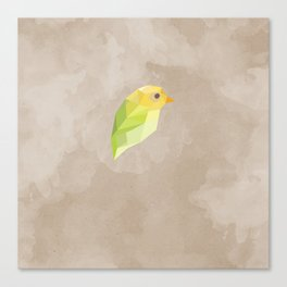 Green Canary Canvas Print